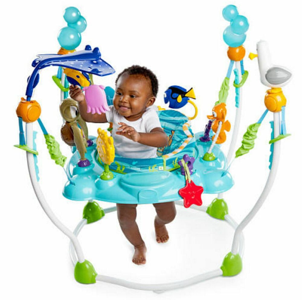 Baby Finding Nemo Activity Seat Jumper Bouncer Jumperoo