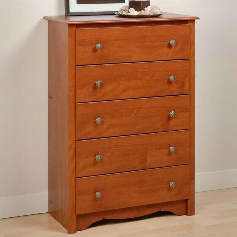 Prepac monterey drawer chest wood of drawers