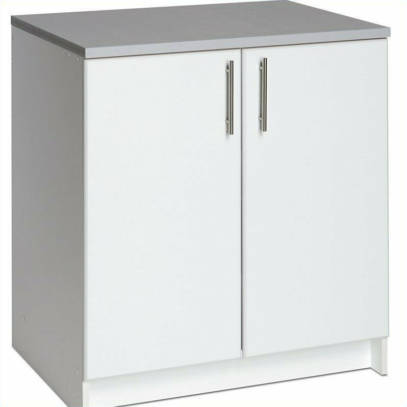 elite storage 32 base cabinet with 2 doors cabinet free standing storage ebay. Black Bedroom Furniture Sets. Home Design Ideas