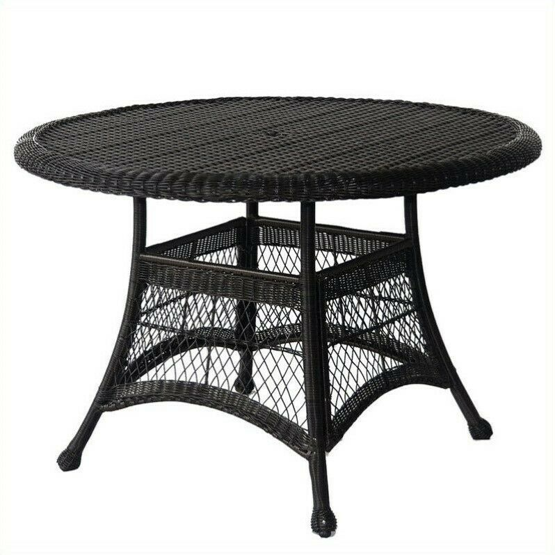 outdoor patio furniture wicker 44 quot dining table in
