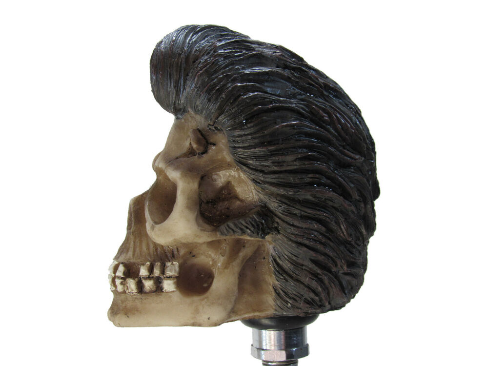 Elvis Greaser Shifter Knob Shift Gear Car Skull Rod