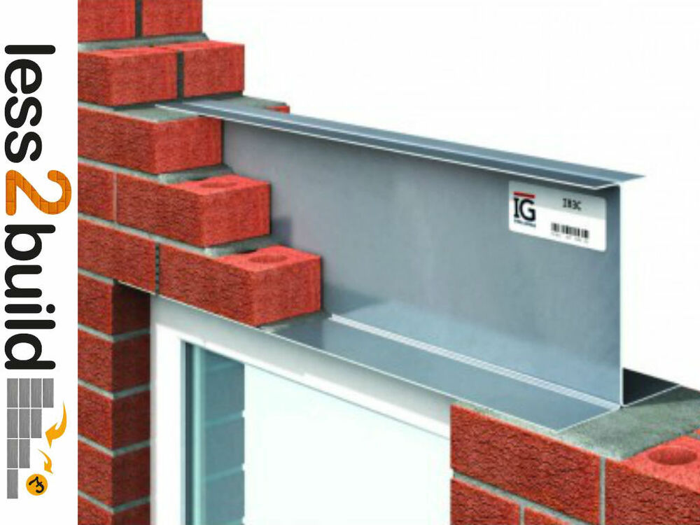 Catnic Ig Steel 200mm Solid Wall I Beam 3c Lintel 600
