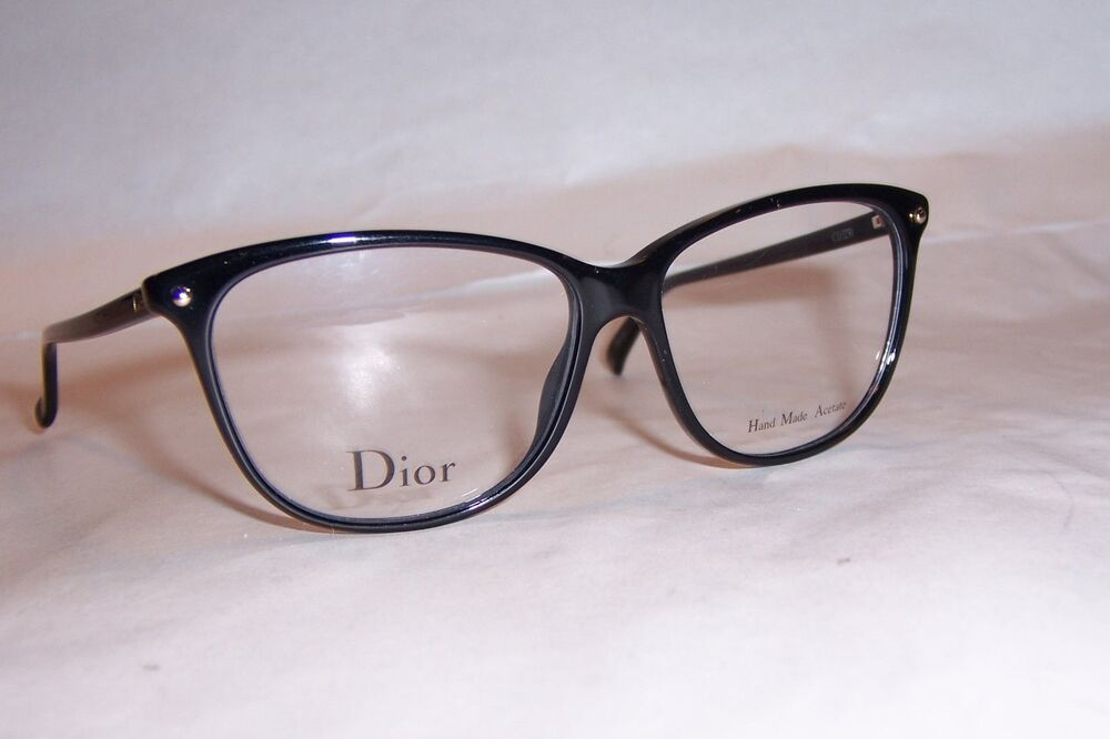 a0f940899bed4 NEW CHRISTIAN DIOR EYEGLASSES CD 3270 807 BLACK 53mm RX AUTHENTIC  762753796882