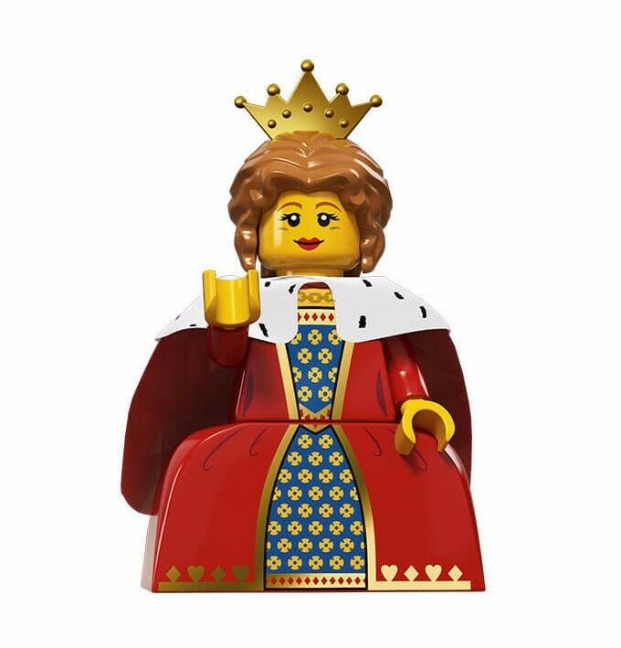 new lego minifigure s series 15 71011 queen ebay. Black Bedroom Furniture Sets. Home Design Ideas