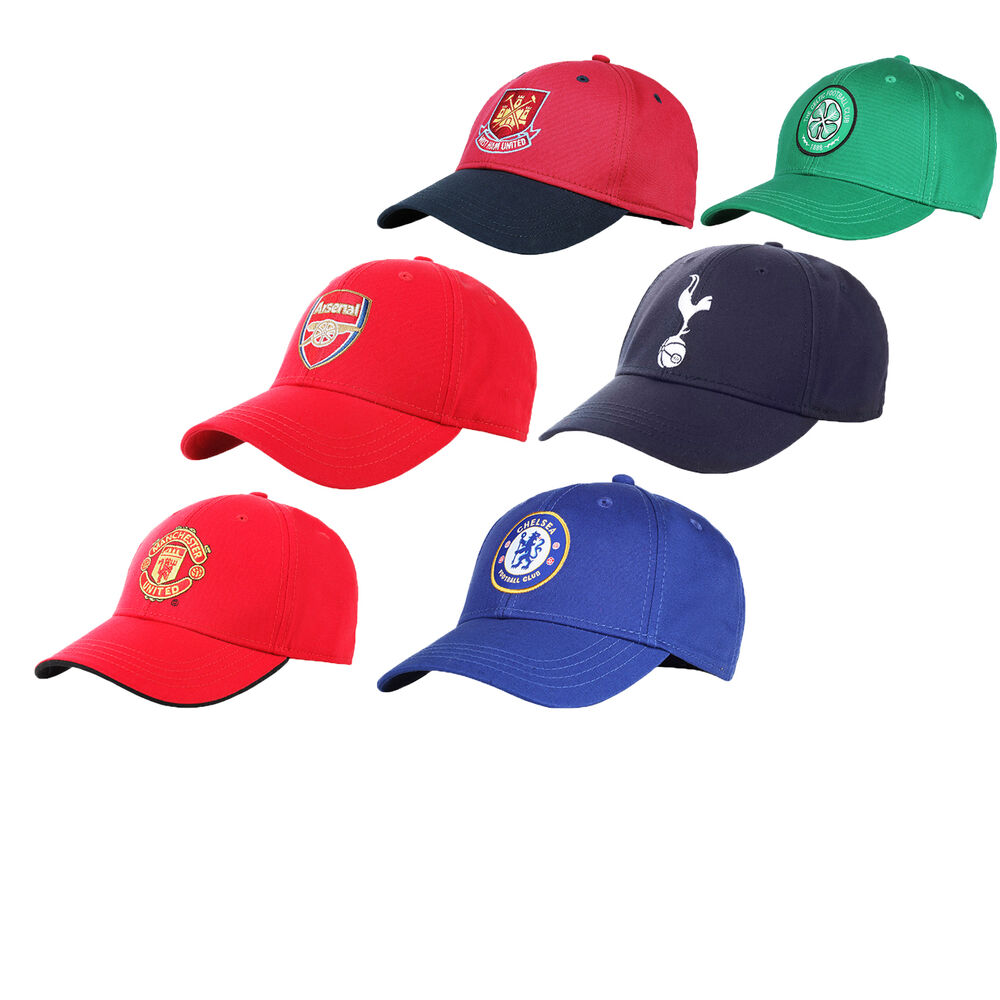 91f21eb1f7a Details about OFFICIAL FOOTBALL CLUB ADULT BASEBALL CAP IN ONE SIZE