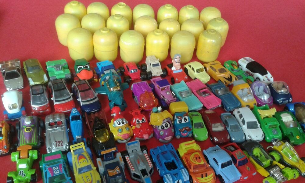 Eggs Building Toys For Boys : Different cars from kinder surprise eggs toys no