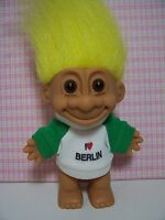 "I LOVE BERLIN - 5"" Russ Troll Doll - Very Hard To Find"