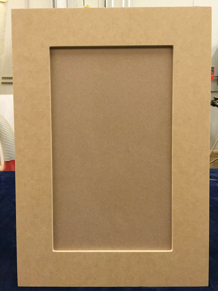 Custom Cut To Size Mdf Shaker Recess Panel Cabinet Door