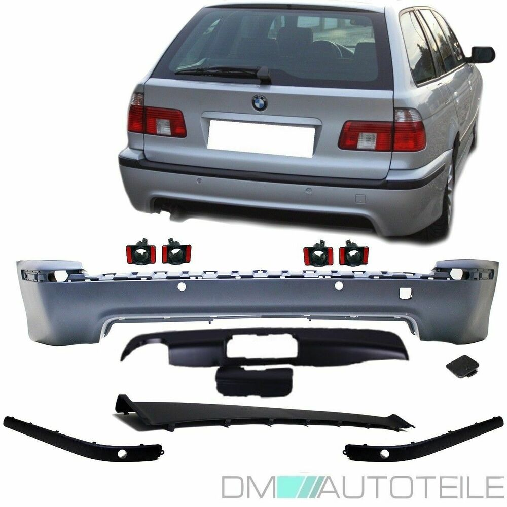 bmw e39 touring sport sto stange hinten heck f r pdc ahk diffusor m paket m5 ebay. Black Bedroom Furniture Sets. Home Design Ideas