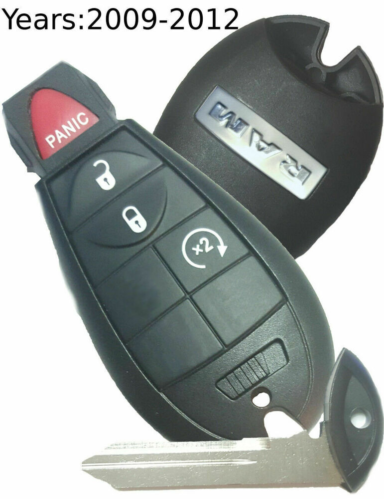 Ram 4 Button Fobik Smart Key Dodge Oem W Remote Start 2009