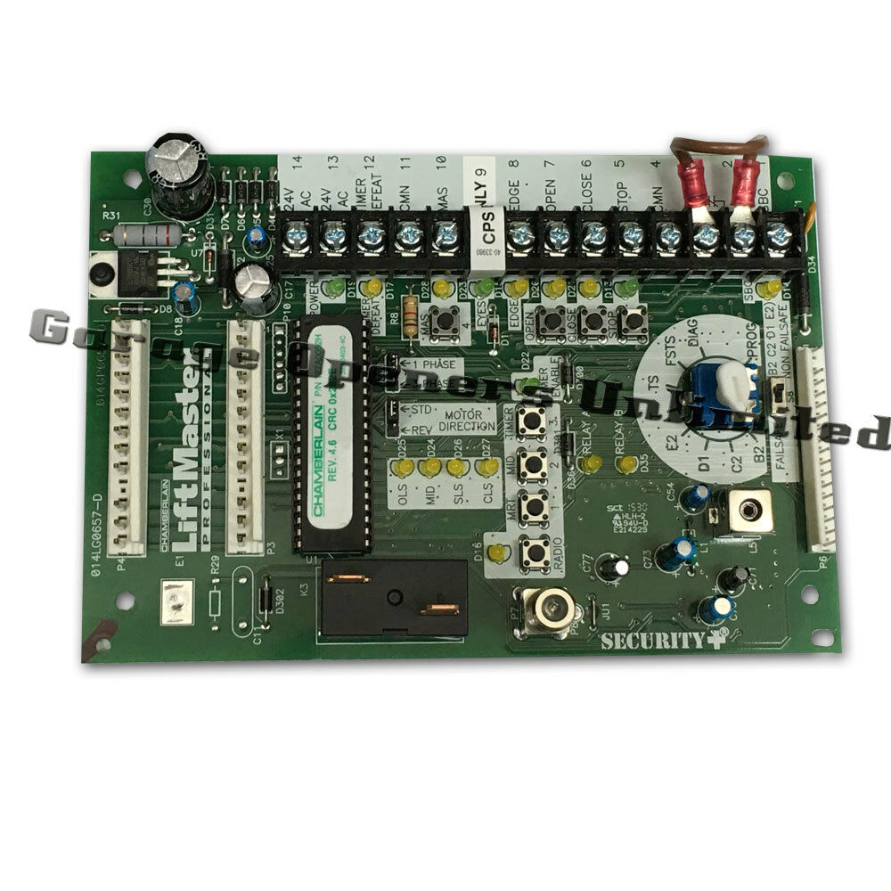 Liftmaster K001a5729 L4 Logic Control Board Replacement