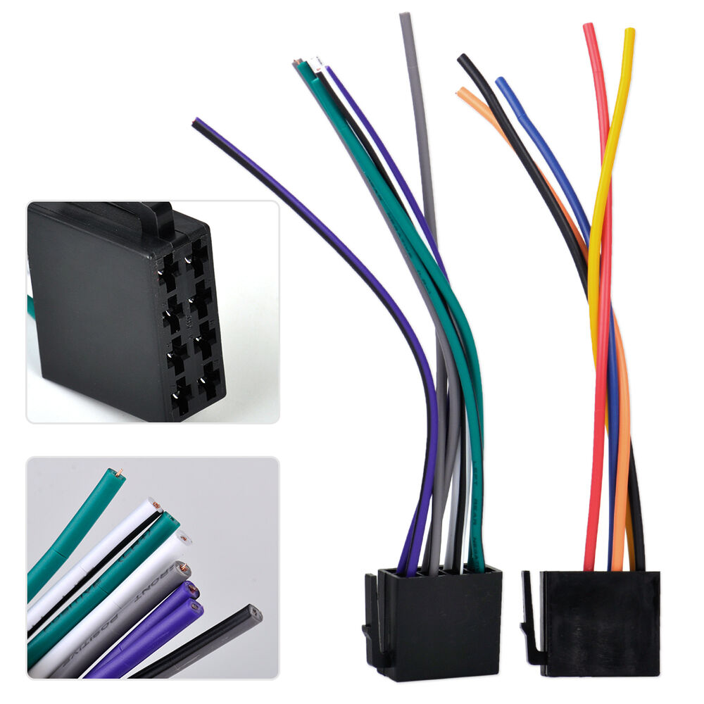universal iso wire harness female adapter connector cable. Black Bedroom Furniture Sets. Home Design Ideas