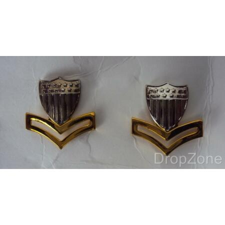 img-US Coast Guard Petty Officer Second Class Collar Insignia / Badges
