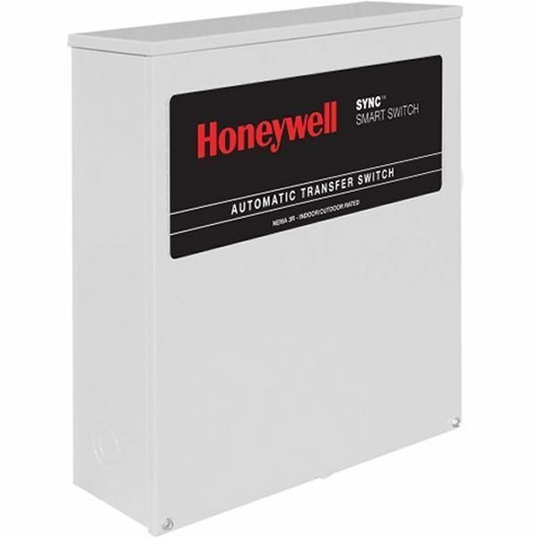 honeywell 200 amp sync smart automatic transfer switch w. Black Bedroom Furniture Sets. Home Design Ideas