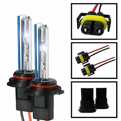 Two 35W 55W Xenon HID Kit 's Replacement Light Bulbs H1 H3 H7 H10 H11 9005 9006