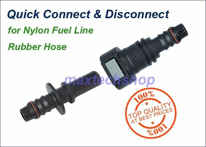 """11.8mm SAE 3/8"""" 10mm Nylon Fuel Line Quick Connect Release"""