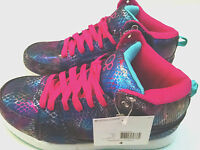 OP Girls Shoes High Top Metallic Multi-Color Athletic Choose Sizes 12 4 5 6 NWT