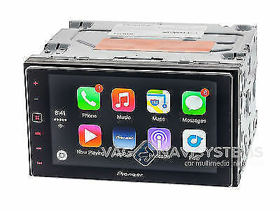 pioneer appradio 4 sph da120 carplay android bluetooth mirrorlink 2 din ebay. Black Bedroom Furniture Sets. Home Design Ideas
