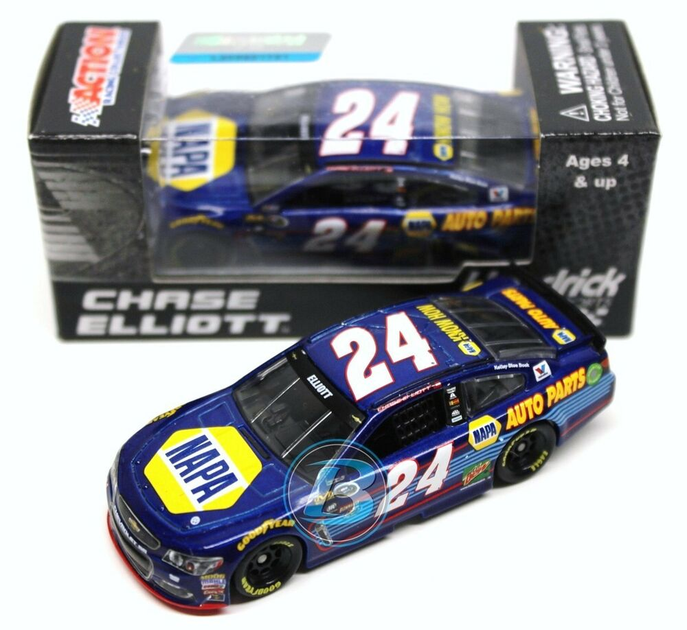 chase elliott 2016 action 1 64 24 napa auto parts. Black Bedroom Furniture Sets. Home Design Ideas