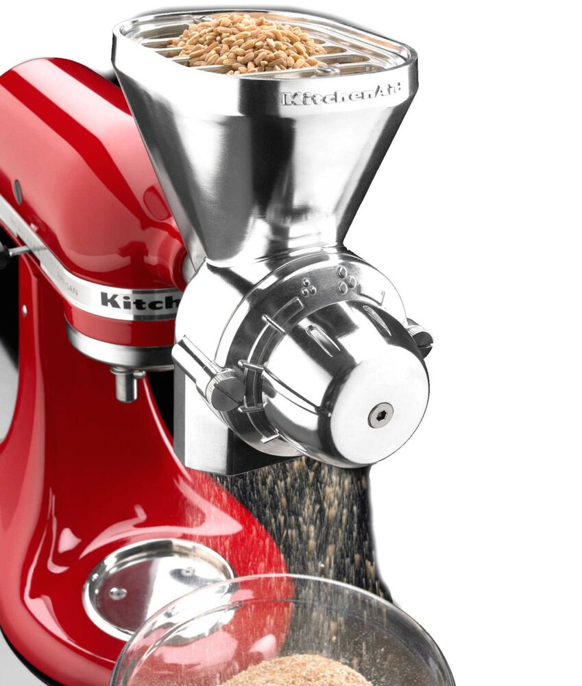 KitchenAid Grain Wheat Corn Rye Oats Mill Grinder Flour