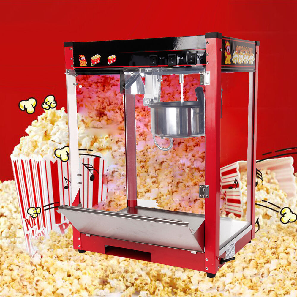 profi elektro popcornautomat popcornmaschine popcorn maker. Black Bedroom Furniture Sets. Home Design Ideas