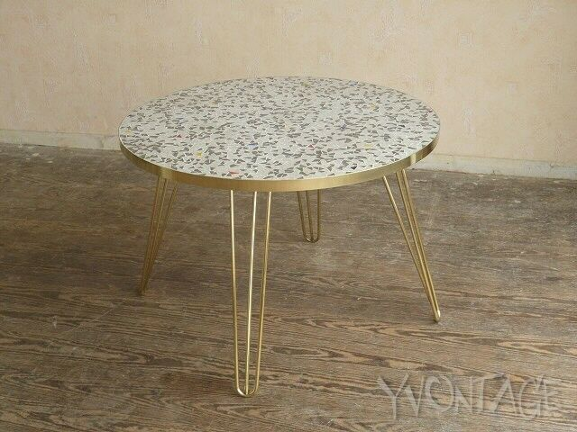 exklusiver coffee table mosaiktisch fliesen mosaik tisch hairpin legs 50er 60er ebay. Black Bedroom Furniture Sets. Home Design Ideas