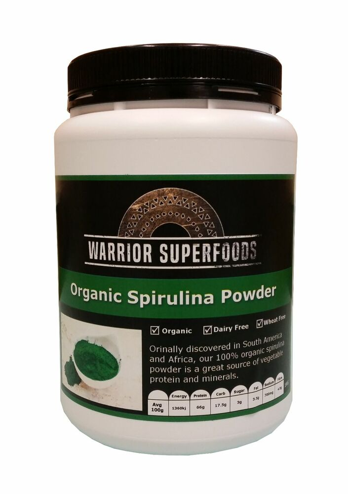 Organic Spirulina Powder 1kg BULK - Best Deal | eBay