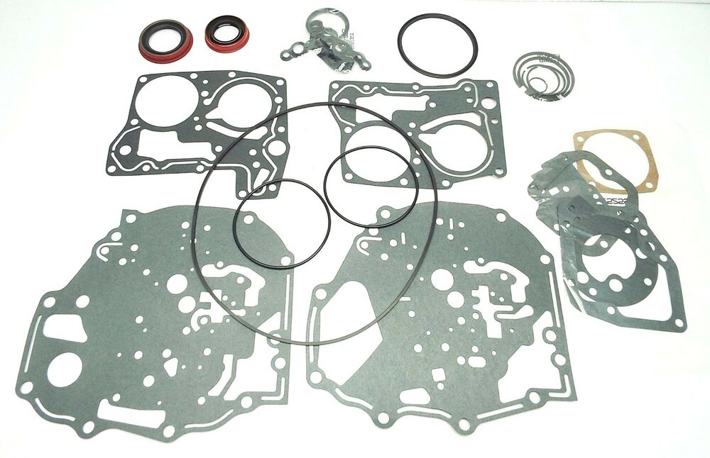 Gm powerglide cast iron combo transmission gasket seals