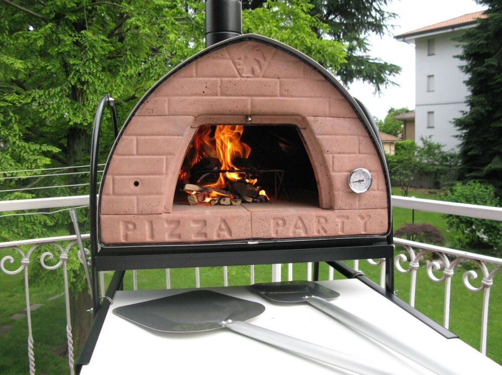 original pizza party wood fired pizza oven bronze ready. Black Bedroom Furniture Sets. Home Design Ideas
