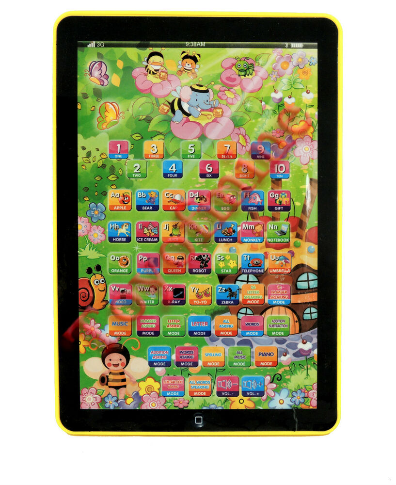 Kids Learning English Computer Tablet Child Educational ...