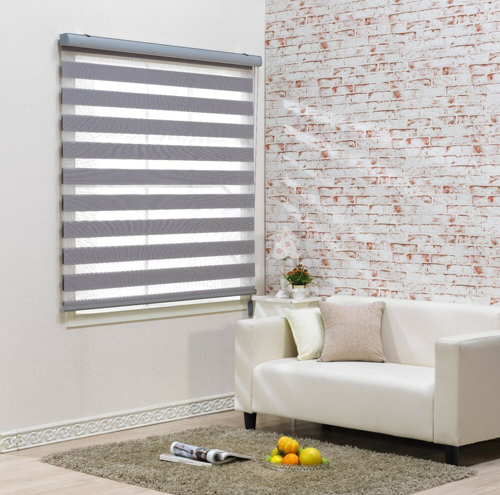 Http Www Ebay Com Itm Custom To Cut Size Irene Roller Window Blind Treatment Shade Horizontal Zebra 222038556172