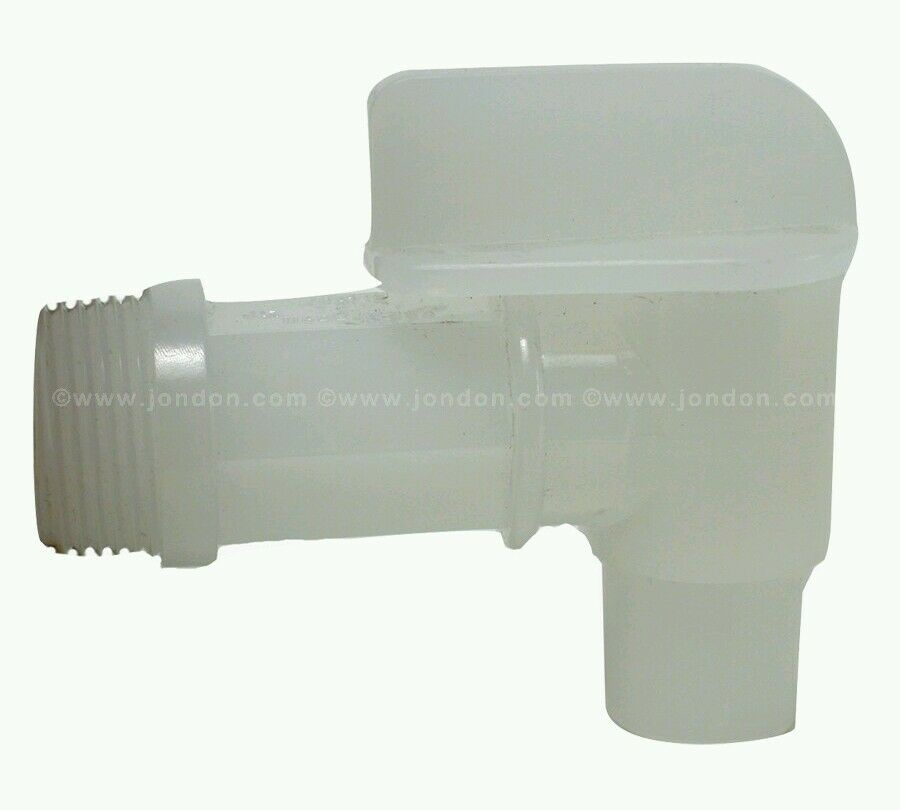 how to add a spout 3 galon clear plastic