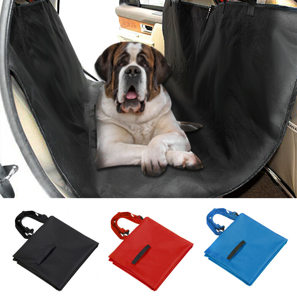 Dog Pet Rear Bench Car Seat Covers Waterproof Travel Back