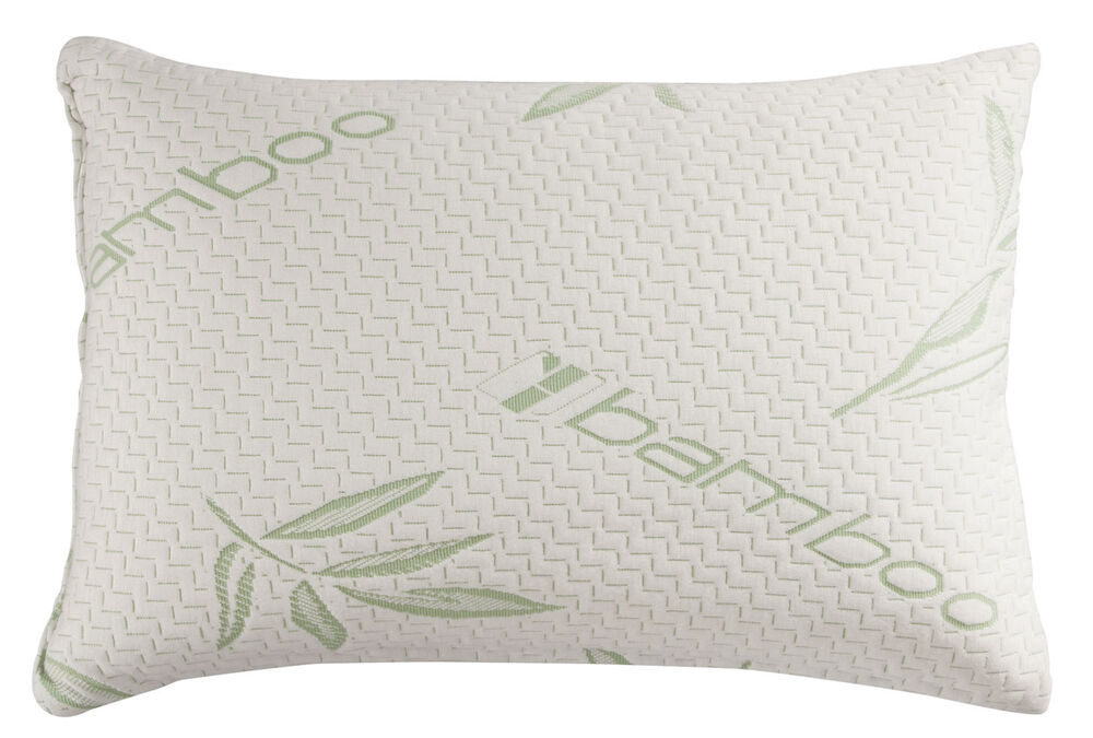 Memory Foam King Pillows. Temperature Sensitive Contour Memory Foam Cooling Gel . Memory Foam 8 ...