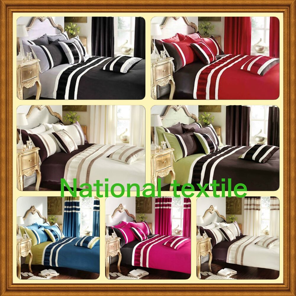 Valencia Duvet Set With Pillow Covers Or Matching Curtains Tiebacks Ebay