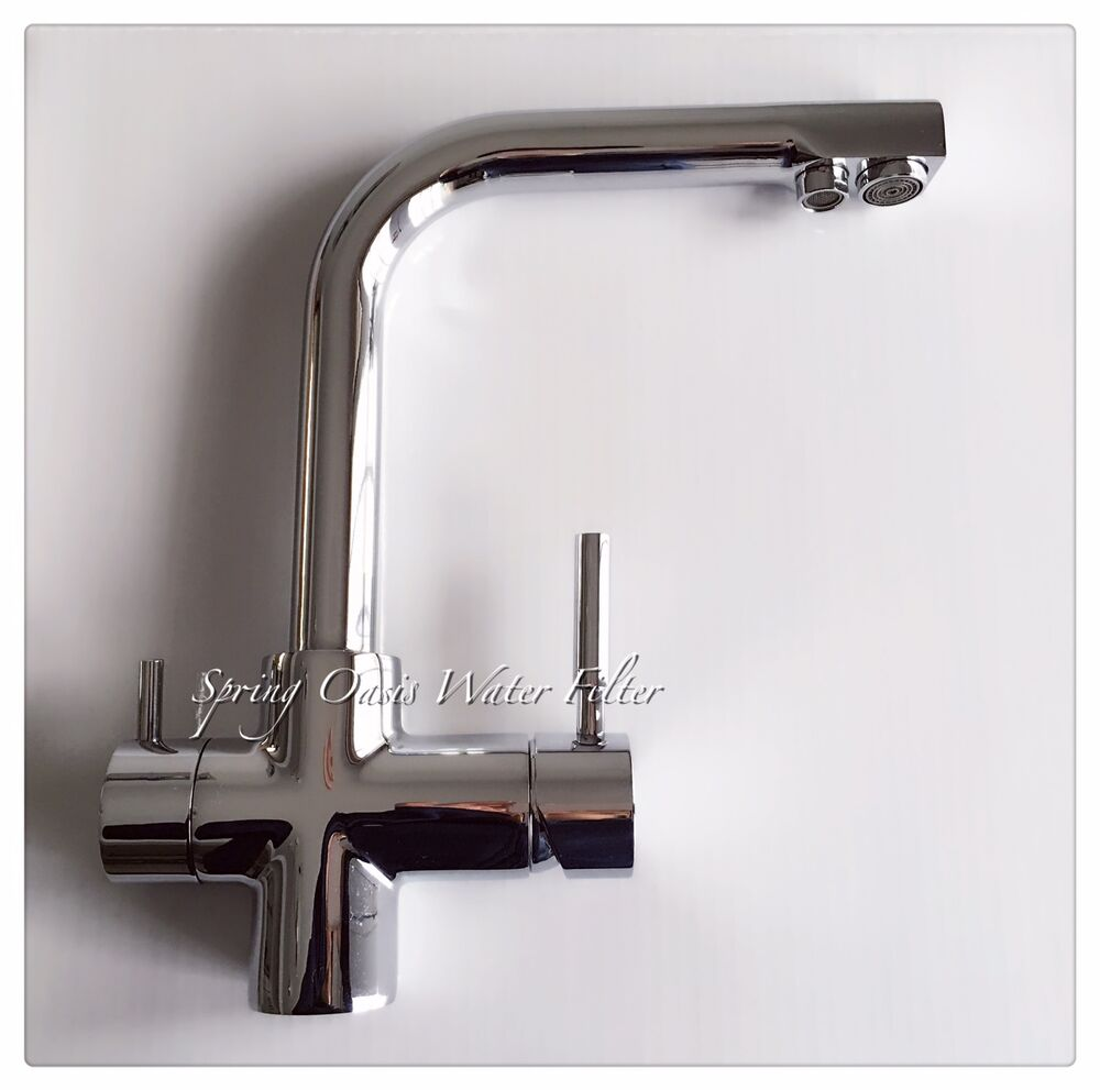 Expensive Kitchen Faucets: Luxury Kitchen Drinking/Hot/Cold Water Triple Function