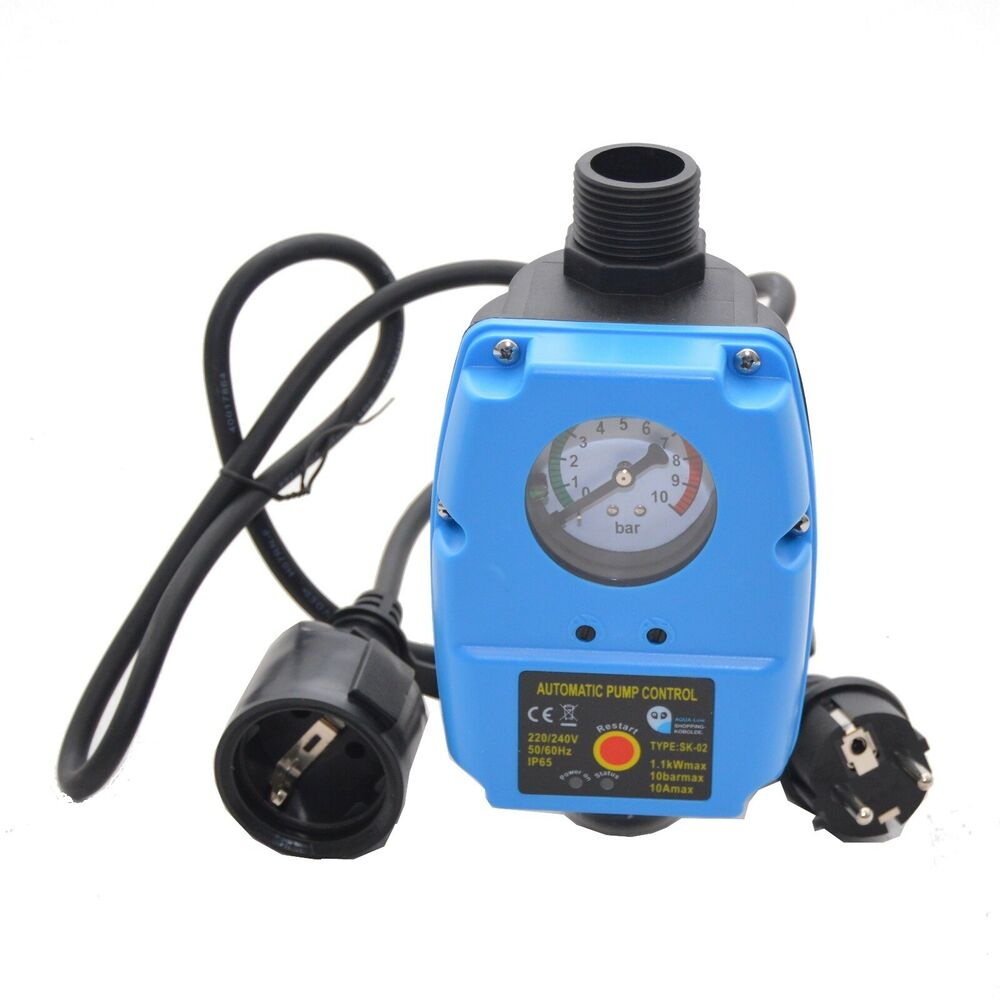 pumpensteuerung druckw chter gartenpumpe hauswasserwerk. Black Bedroom Furniture Sets. Home Design Ideas