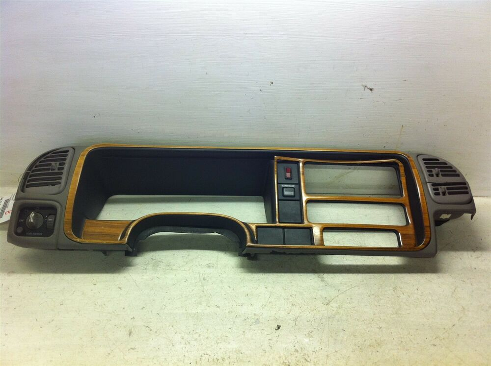 1997 2000 Chevy K3500 Speedometer Instrument Face Plate