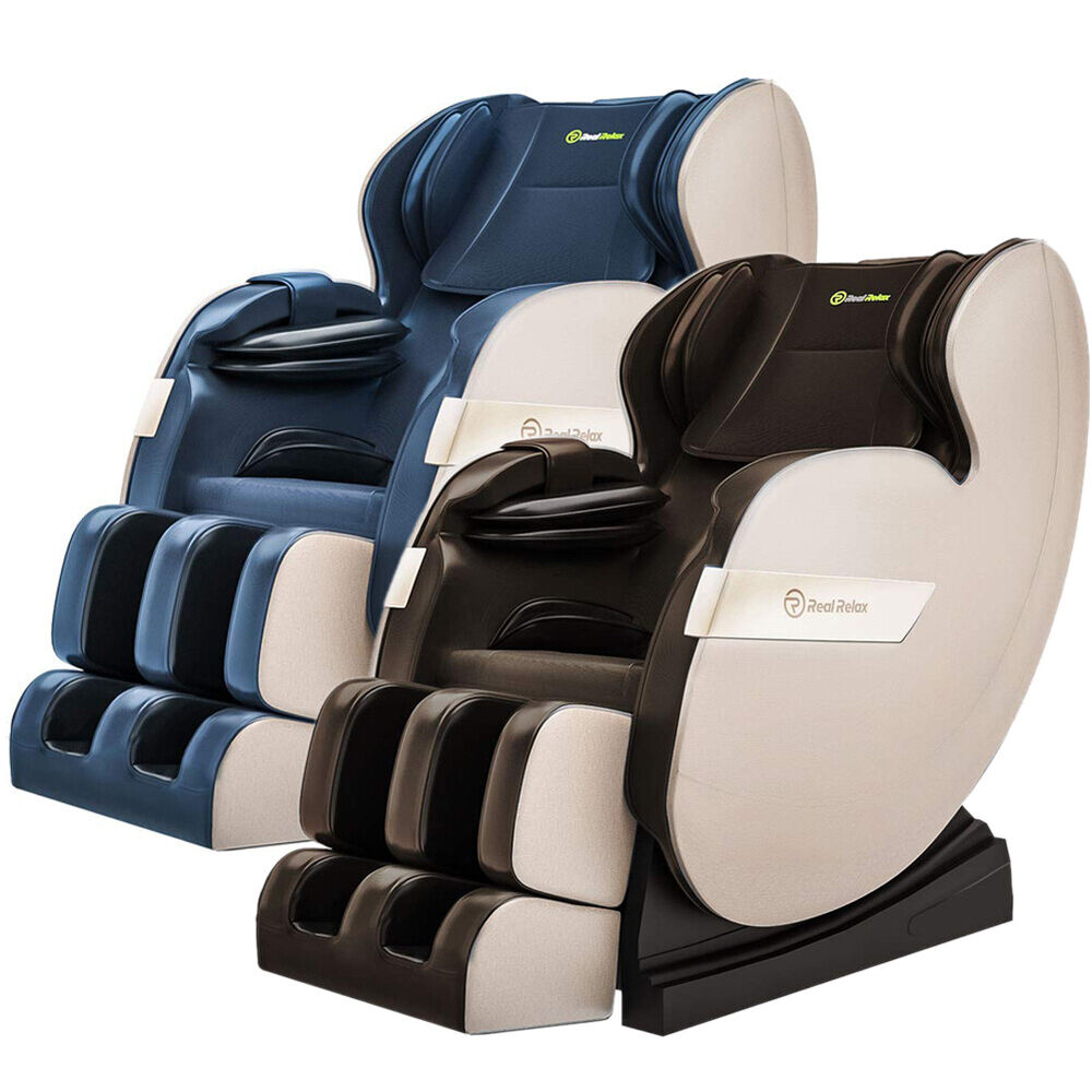 2016 real relax full body shiatsu massage chair recliner