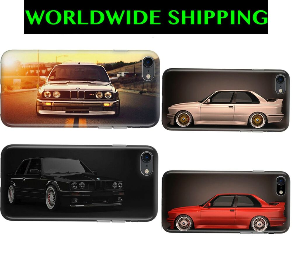 72e54c404d Details about BMW E30 M Sport Tuning Case Skin Cover for iPhone 4/5/6/7/8  Plus X XS Max XR