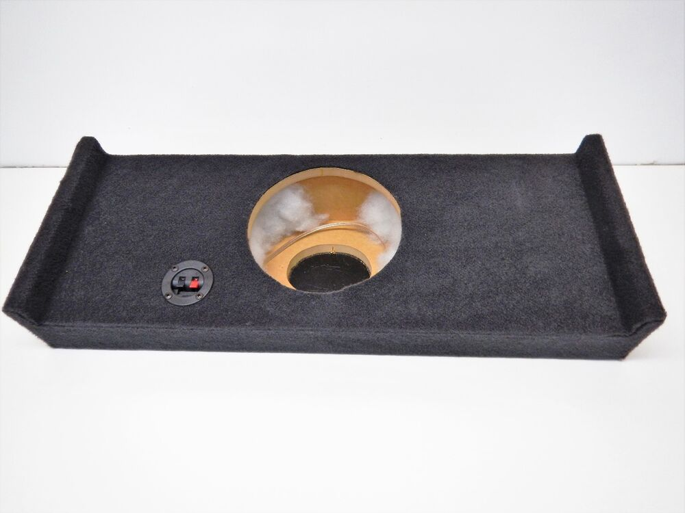 "2010 F150 Custom >> 2009 to 2014 Ford F150 Supercrew Box Enclosure 3/4"" MDF Crewcab 10"" Sub crew cab 
