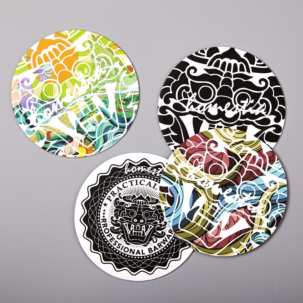 4 Coasters Placemat Cushion Mug Tableware Cup Tea Cup Pad