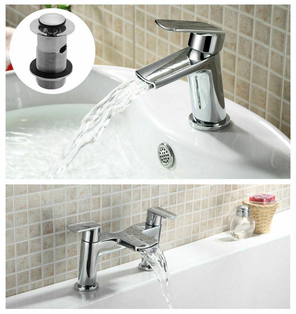 mixer taps for bathroom sink queta waterfall style basin sink mono mixer tap bath 23788 | s l1000