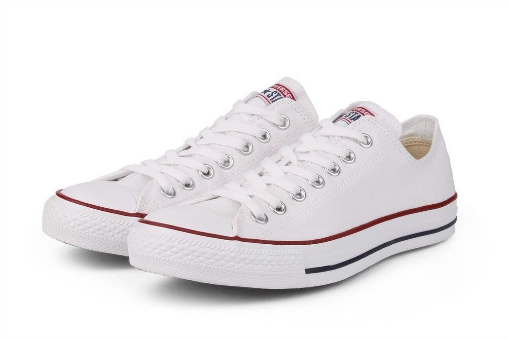 79ccc0b36ffe Details about Converse Chuck Taylor All Star White Low OX Trainer M7652C  NEW Sneaker Men Women