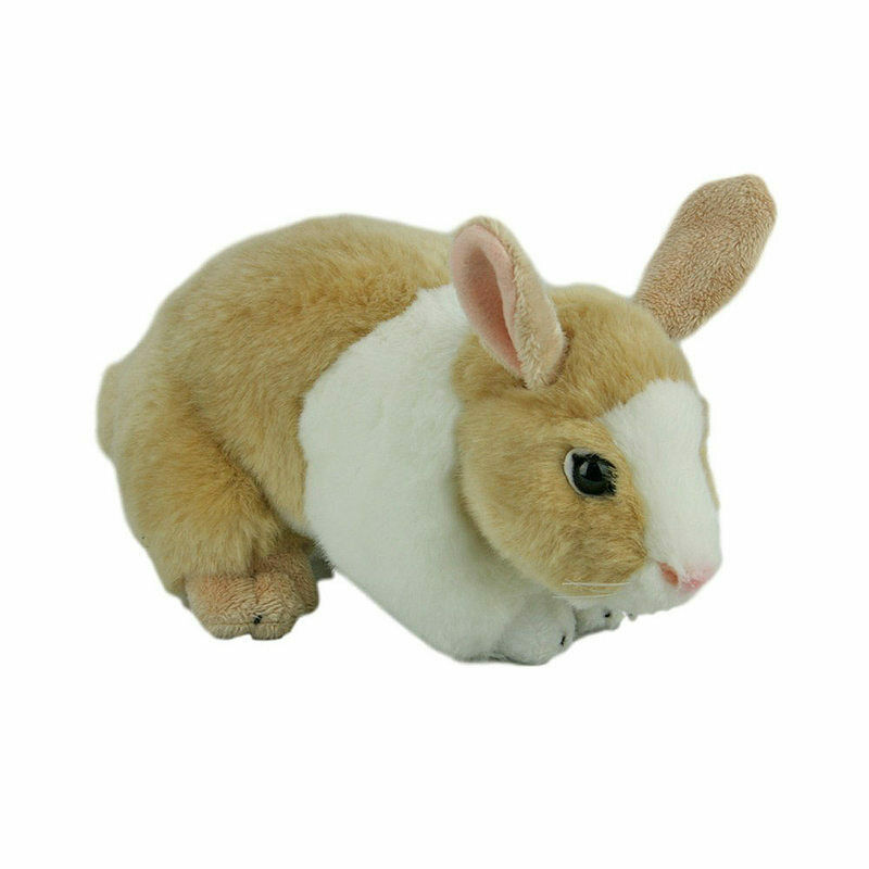 Toys For Bunnies : Rabbit bunny soft plush toy tan white mopsy quot c
