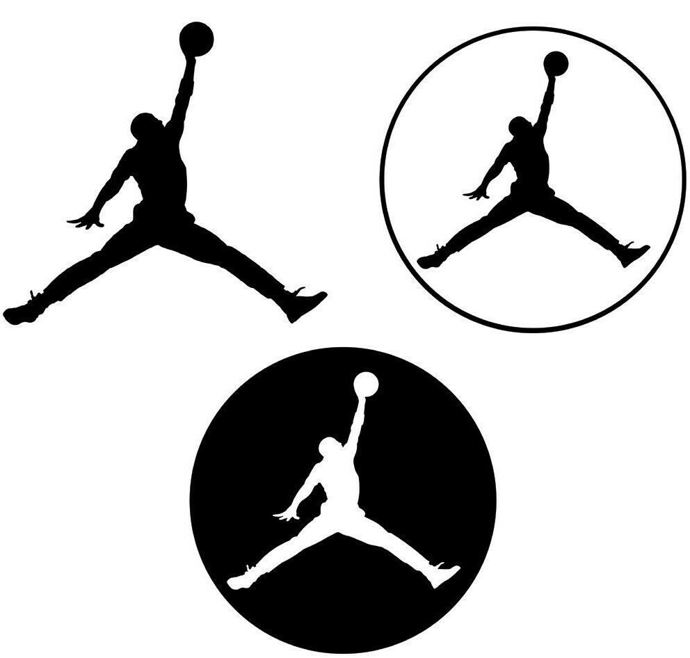 Michael Jordan Vinyl Decal Sticker Basketball Mj Nba