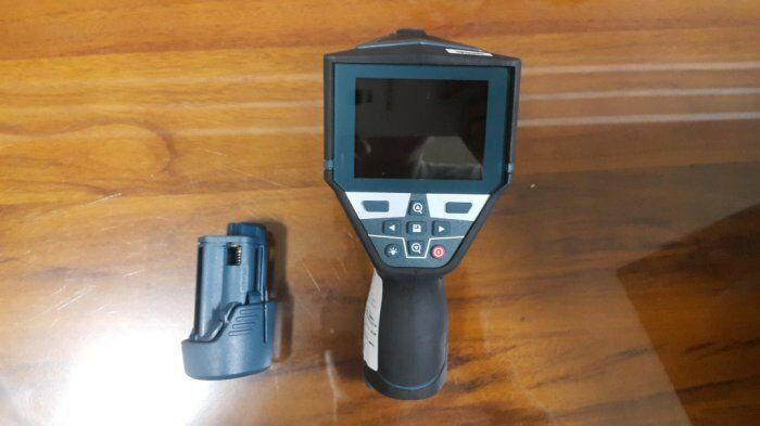 Bosch gis 1000c thermo detector infrared scanner imaging hygrometer thermometer ebay for Thermo scanner watch