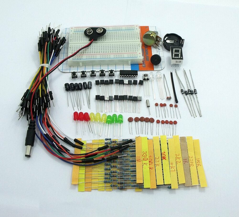 Ask electronic project kit pro starter pack wires