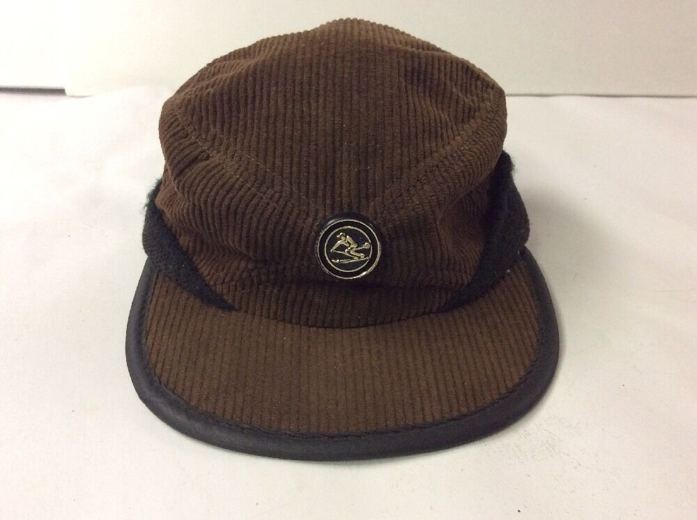 4b228a42c1b Vintage winter ear flap corduroy trucker farmer elmer cap hat skier button  ebay jpg 1000x746 Farmers