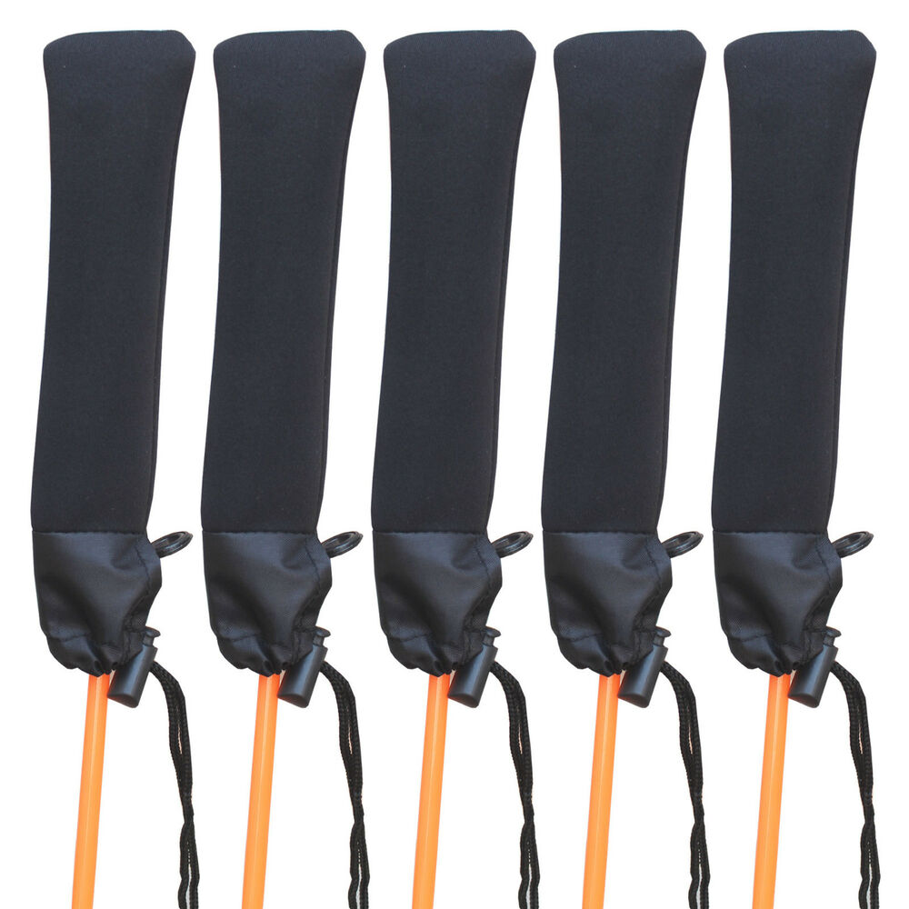 5 neoprene fishing rod tip cover top cover tip protector for Fishing pole sleeves
